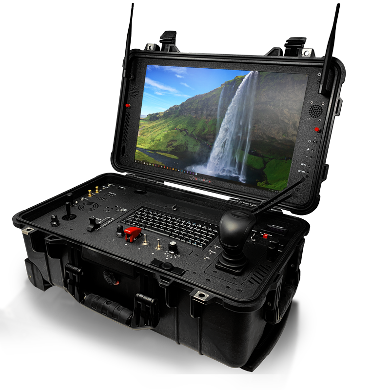 hd-w 19inch widescreen drone control ground station