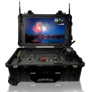 desert rotor ground control drone station black