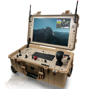 desert rotor ground control drone station gold