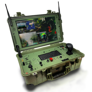 desert rotor ground control drone station green