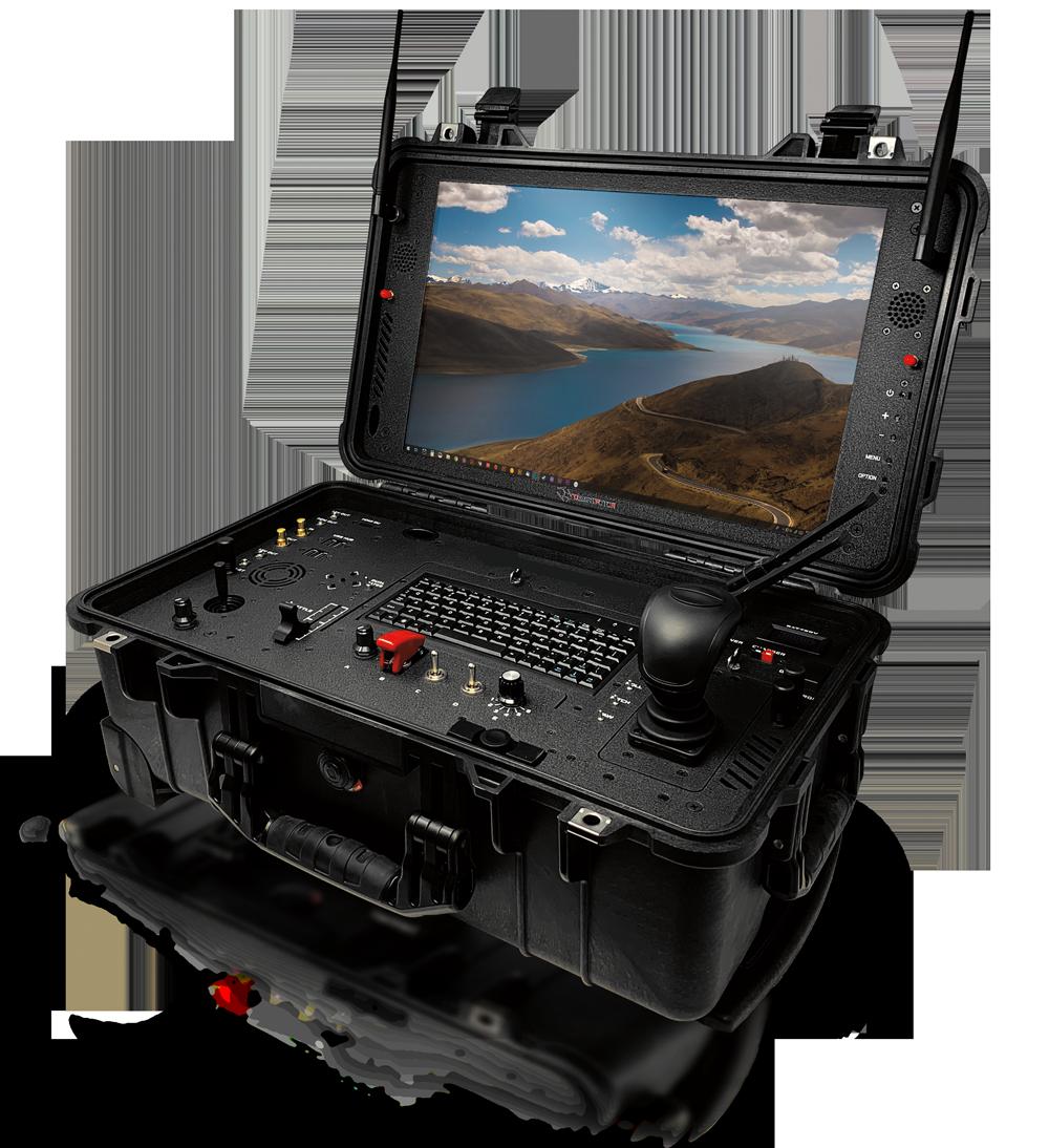 desert rotor ground control drone system black