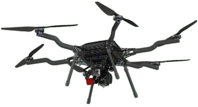 harris aerial drone